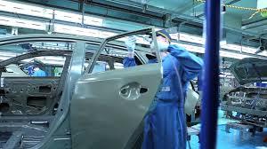 toyota auto company factory to forecourt paint shop youtube