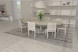 Modern White Rug Patchwork Cowhide Rug In Classic White And Gray Stripes Shine Rugs
