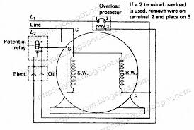 electrical control circuit schematic diagram of two value