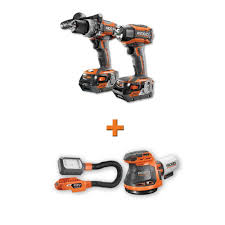 ridgid gen5x brushless 18 volt compact hammer drill driver and 3