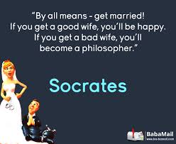 wedding quotes philosophers hilarious marriage advice from babamail