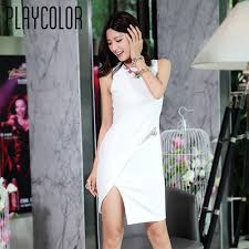 aliexpress com buy playcolor white short cocktail dresses prom
