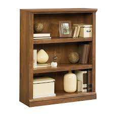 sauder 4 shelf bookcase shop sauder oiled oak 3 shelf bookcase at lowes com