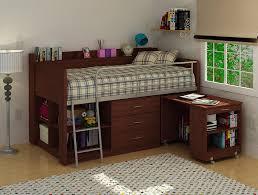 Bunk Bed Desk Ikea Bed With Desk Ikea Square Orange Minimalist Wooden Bunk Bed