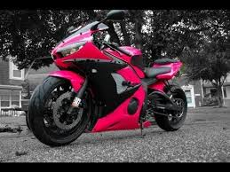 how to paint a motorcycle in your garage pink edition youtube