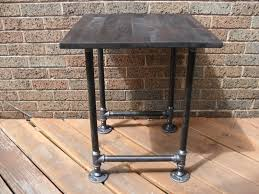 Living Room End Table Decor Industrial Pipe End Table Ideas For All Those Scraps Pipe