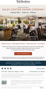 37 best toll brothers national sales events images on pinterest