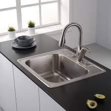 Overmount Stainless Steel Sink by Sinks Astonishing Top Mount Stainless Steel Sink Top Mount