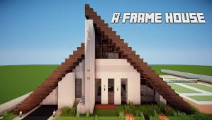 a frame house minecraft lets build a frame house