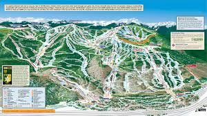 Colorado Mountains Map by Front Side Of Vail 2012 13 Season Three Bases Golden Peak Vail