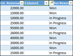 Excel Crm Template Analyze Your Data With Excel Templates Microsoft Dynamics 365