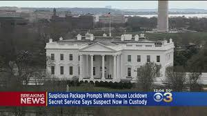 Whole House Furniture Packages Suspicious Package Prompts Temporary Lockdown At White House Cbs