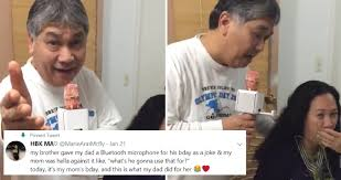 Asian Karaoke Meme - smooth filipino dad serenades wife with epic karaoke every damn day