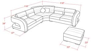 Sectional Sofas Dimensions Home Decor Wonderful Sectional Sofa Dimensions Combine With