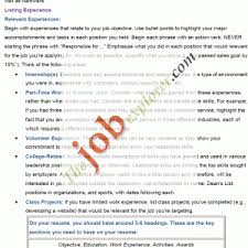 how to write a professional profile resume genius bullet form