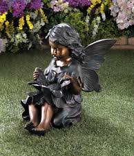 fairies iron statues lawn ornaments ebay