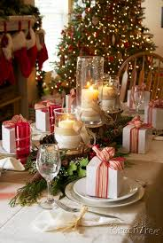 Christmas Decorations For Homes Best 25 Christmas Table Settings Ideas On Pinterest Christmas