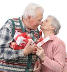 gifts for elderly grandmother senior men give gifts senior women stock image image of