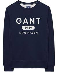 shop men u0027s gant sweaters and knitwear from 36 lyst