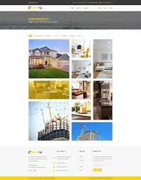 Real Estate Brochure Template by Build Up Real Estate U0026 Construction Psd Template By Perculatheme