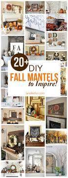 diy fall mantel decor ideas to inspire landeelu com diy fall mantel decor ideas to inspire landeelu com