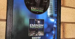Curtain Call Tracklist Limited Framed Eminem Curtain Call Cd Loving It Album On Imgur