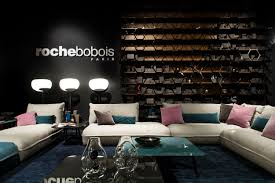 modular tanned leather sofa octet by roche bobois design maurizio