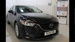 mazda saloon cars mazda 6 saloon jet black mica youtube