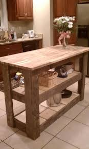 Kitchen Island Made From Reclaimed Wood 34 Best Recycled Kitchen Island Images On Pinterest Kitchen