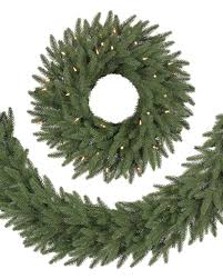 stratford spruce artificial christmas wreath and garland balsam hill