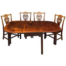 Solid Mahogany Dining Table George Iii Solid Mahogany Country House Dining Table C 1770