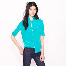 j crew blouses blouse in silk shirts tops s arrivals j crew