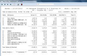 balance de comprobacion sunat informes sobre saldos de cuenta auxiliares