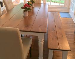 dining room table rustic dining room table etsy