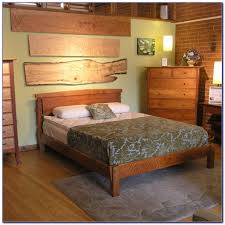 Wood Bed Frames And Headboards by Wood Bed Frame Without Headboard Headboard Home Decorating