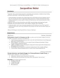 Resume For Tutor Resume For Camp Counselor Resume Ideas