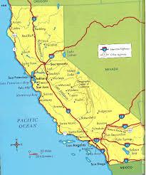 map of cities in california california cities map