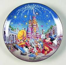 25th anniversary plate bradford exchange walt disney world 25th anniversary at