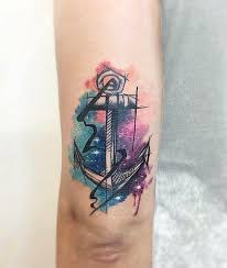 watercolor anchor designs ideas and meaning tattoos for you