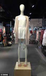 topshop is under fire over u0027famine victim u0027 mannequins daily mail
