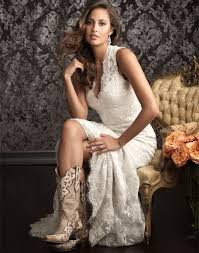 casual rustic wedding dresses vintage high low outdoor country lace wedding dress on luulla