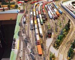 yard scenery on the trenton subdivision in n scale model