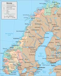 Scandinavia Blank Map by Norway Map Clipart 44