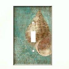 beach light switch covers beach decor sea glass switch plate cover by beachdancerscottage