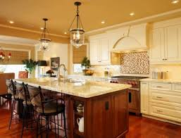 kitchen brown kitchen cabinets country kitchen lighting ideas