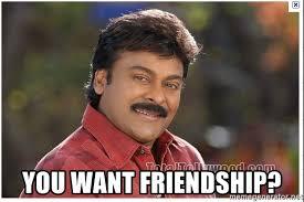 Indian Meme Generator - you want friendship typical indian guy meme generator