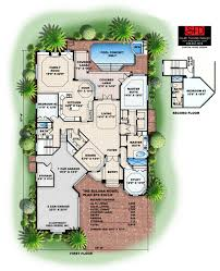 covered lanai south florida designs 1 story mediterranean open floor plan home