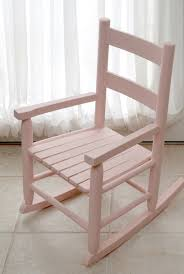 Let Me Be Your Rocking Chair Child U0027s Rocking Chair With Folkart Milk Paint One Artsy Mama