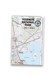 Yosemite Park Map Yosemite National Park U2013 Tom Harrison Maps