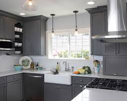 grey kitchen cabinets with white countertop 21 creative grey kitchen cabinet ideas for your kitchen
